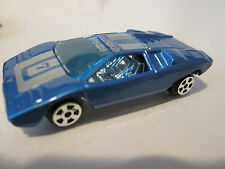 1977 Marz Karz Summer Blue #7V Lamborghini Countach LP-500 S Car #S675 HK 1:60