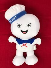 "2016 Ghostbusters Stay Puft Marshmellow Man 14"" Plush Push Belly & Sings"