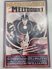 HAVOK & WOLVERINE MELTDOWN Prestige Format Books #1-4 EPIC FULL COMPLETE SERIES!