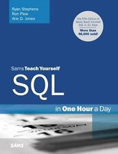 Sams Teach Yourself SQL in One Hour a Day (5th Edition), Jones, Arie D., Plew, R