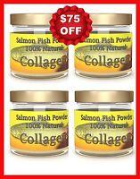 Salmon Marine Fish Collagen Joint Care Mobility Pain Rheumatoid Arthritis 4-Pack
