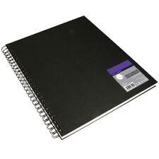 Daler Rowney Simply Spiral Hardback Sketchbook - 100gsm Acid Free 54 Sheets - A6