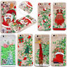 Christmas Glitter Quicksand Liquid Hard Case Cover For Apple iPhone 6s 7 8 Plus