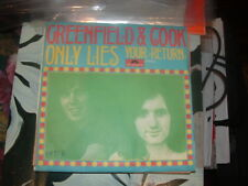 "GREENFIELD & COOK "" ONLY LIES "" ITALY'72"