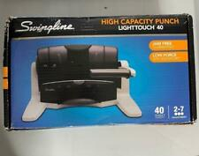 Swingline Light Touch 40 3 Punch Hole NEW