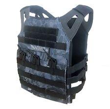 DLP Tactical WRAITH JPC MOLLE plate carrier vest in Kryptek Typhon