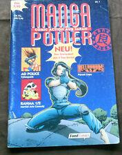 Cartelloni Fumetto Manga Power n. 1 (1996)