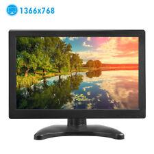 """12"""" Zoll TFT LED Bildschirm CCTV Sicherheit AV/VGA/BNC/HDMI Monitor Lautsprecher"""