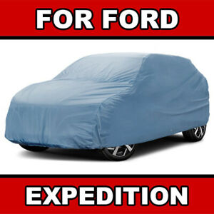 Fits. [FORD EXPEDITION] SUV CAR COVER ☑️ 100% Waterproof ☑️ Warranty ✔CUSTOM✔FIT