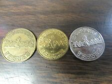 TOP DOG FAMILY FUN CENTER - WILKES-BARRE / SCRANTON PA - COMPLETE TOKEN SET
