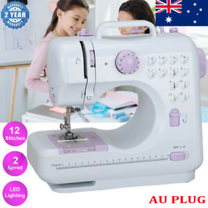 Electric Sewing Machine Multi-Function Portable Hand held Desktop 12 Stitches AU