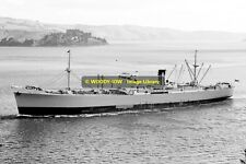 mc0194 - Port Line Cargo Ship - Port Lincoln , built 1946 - photo 6x4