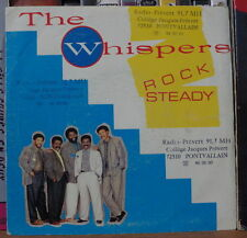 THE WHISPERS ROCK STEADY FRENCH SP SOLAR 1987