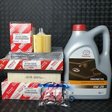 GENUINE LEXUS IS300H HYBRID SERVICE KIT 2013 TO 2018 MODEL 0W20 OIL & FILTERS