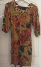 BCBGLadies beaded Tunic dress Designer Bcbg MaxAzria size Small10 New Tags $210
