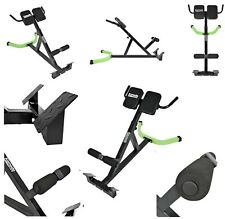 New Back Hyper Extension Bench Core Muscle Strength Gym Adjustable Workout Rack