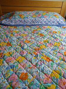 Ultra rare vintage 1990's  Ken Done Sheridan Australia Bedspread vgc Palm Beach
