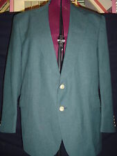 Men's Vintage Johnny Bench Collection Size 48R Gray Wool Blazer  EUC
