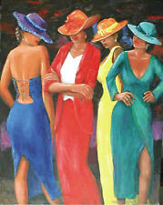"""A TOUCH OF ENVY POSTER BY ARTIST ROMEO DOWNER - LARGE 24"""" X 36"""" POSTER - NEW"""