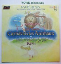 9500 973 - SAINT-SAENS - Carnival Of The Animals PREVIN - Ex Con LP Record