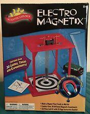Electro Magnetix Slinky Science Kit Experiments Scientific Explorer Educational