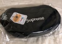 SUPREME WAIST BAG OS BLACK(IN HAND) FW18 WEEK ONE BRAND NEW SEALED AUTHENTIC*