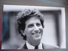 PHOTO DE PRESSE ORIGINALE 1985 JACK LANG INVITE L'HEURE DE VERITE