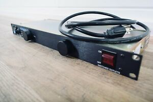 Furman PL-8 120v 15Amp Power Conditioner in excellent condition (ChurchOwned)