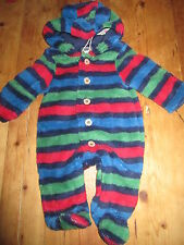 Fleece Striped Clothing (0-24 Months) for Boys