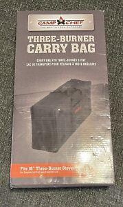 Camp Chef Carry Bag for Two Burner Stoves 3 Burner Case