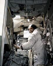8x10 Print NASA Apollo 11 Neil Armstrong Lunar Module Simulator #AP11