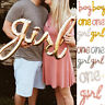 Decoration Baby Shower Boy & Girl Inflatable Toys Foil Balloon Gender Reveal