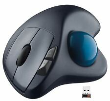Logitech Logi Wireless Trackball Laser Track Cordless Mouse M570 Mac & Windows