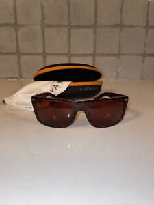 Kaenon Burnet polarized sunglasses Sequoia frame ultra brown 12 lens