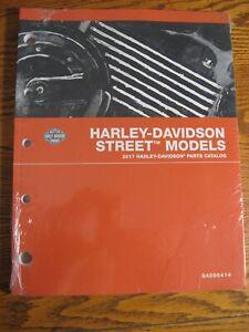 2017 Harley-Davidson Street Models XG500 XG750 Rod Parts Catalog NEW 94000414A