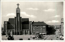 Hradec Králové Česká alte AK ~1940 Pražské Předměstí Kirche Church Straßenpartie