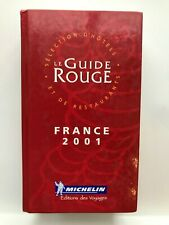 Guide Michelin France 2001