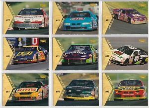 1996 Pinnacle ARTIST PROOF PARALLEL #55 John Andretti's Car SWEET & SCARCE!
