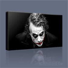 BATMAN THE JOKER DARK KNIGHT ICONIC CANVAS POP ART PRINT PICTURE - Art Williams