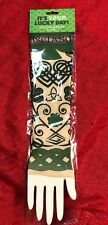 Set Of 2 St. Patrick's Day Tattoo Sleeve Irish Tribal Green Parade Party Costume