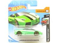 Hotwheels Lamborghini Reventon Roadster Green Short Card 1 64 Scale Sealed New