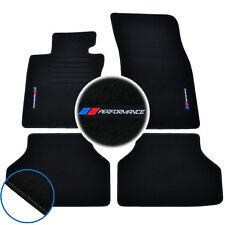 4 TAPIS SOL BMW SERIE 5 E60 SPORT DESIGN MOQUETTE LOGO PERFORMANCE M SPECIFIQUE