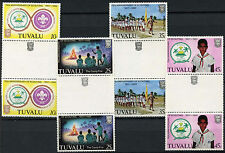 Tuvalu 1982 SG#192-5 Boy Scout Movement MNH Gutter Pair Set #A86319