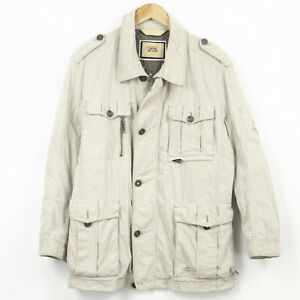 Camel Active Jacket Beige Breathable Casual Mens Size 52