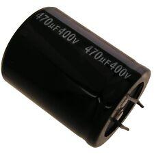 Elko Kondensator Jamicon HS 400V 470uF RM10 35x45mm 105°C Snap-in 854282