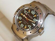 Man's Fashion VOSTOK Russian military Amphibian diver 200m. auto watch VA#060334