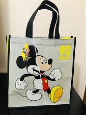 Micky Mouse Disney Reusable Large Tote Bag Gift Bag New Limited Edition 13x13