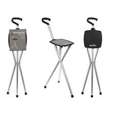 Summit Folding Stick Stool - Seat Walking Hiking Tripod Resting When Sports