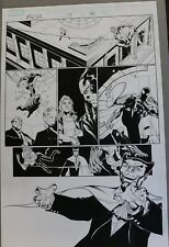 Marvel Knights Spider-Man #17 p.20 - Spidey Action - 2005 art by Billy Tan Comic Art