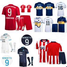 New Kids Soccer Strip Junior/Adults Custom Football Jersey Club Team Sports Set